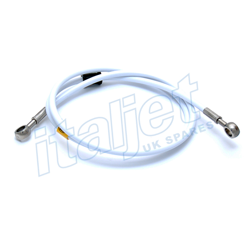 Front Brake Tube White Grimeca