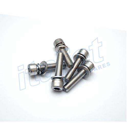 Wheel Bolt Kit Stainless Silver