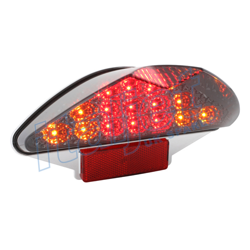Tail Light Smoked LED With Indicators