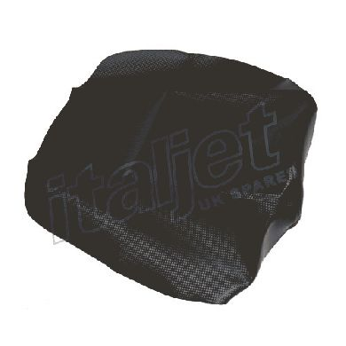 Drivers Seat Black Carbon Look Cover