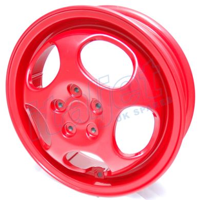 Front Wheel Red