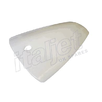 Rear Seat Pod Original Type Raw Plastic