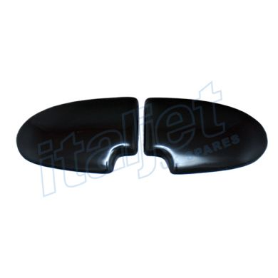 Seat Bum Pads Gloss Black