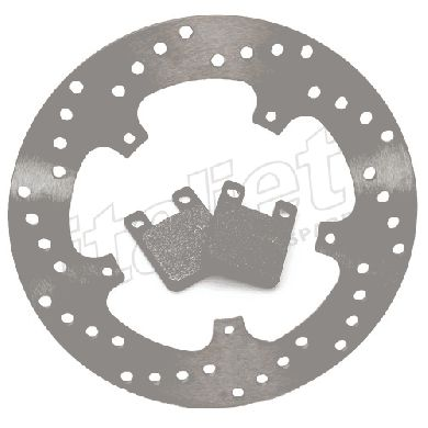 Rear Brake Disc Kit AJP