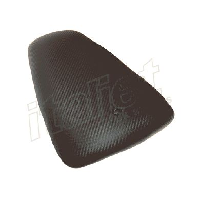 Rear Passenger Seat Carbon Fibre Effect